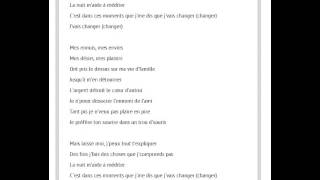 Maitre Gims - Changer Paroles