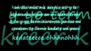 pee wee ft sherlyn porfavor quiereme con letra{lyrics}