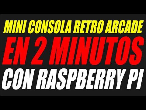 TUTORIAL MINI CONSOLA RETRO CON RASPBERRY PI EN 2 MINUTOS