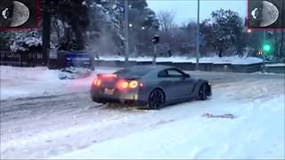 Best Street Drifting Fails and Wins on Snow 2018