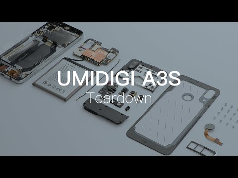 UMIDIGI A3S: Teardown the World's Most Affordable Android 10 Smartphone