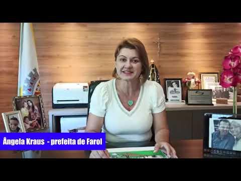 Mensagem de Ano Novo da Prefeita de Farol - Ângela Kraus - Cidade Portal