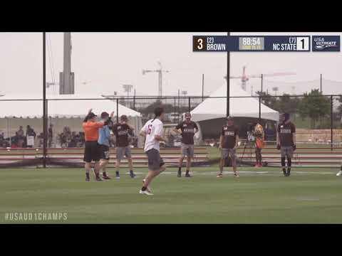 Video Thumbnail: 2019 College Championships, Men's Pool Play: Brown vs. North Carolina State