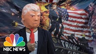 Hong Kong Protesters Sport Pro-Trump Attire, Thank U.S. For Support   NBC News