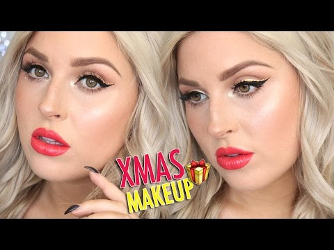 Festive Makeup Tutorial & Gift Ideas! ? Gift Guide For Him & Her!