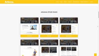 Arkana - One Page Construction WordPress Theme        Aucaman Roydon