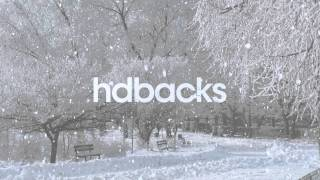 Snow in the Park - HD Background Loop