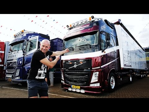 Volvo Trucks - Super stylish Volvo FH with top quality cab comforts ? ?Welcome to my cab ? light?