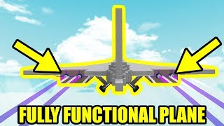 I built a FULLY FUNCTIONAL PLANE | Roblox Build a Boat for Treasure