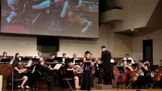 Spring Song by Mendelssohn (Solo Violin with string orchestra)