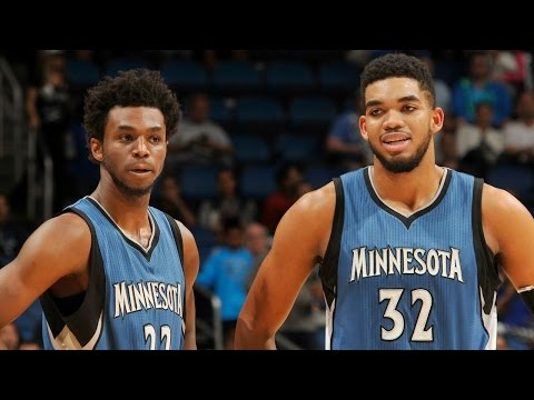 Andrew Wiggins & Karl-Anthony Towns ON FIRE in February!!!