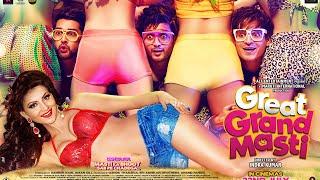 Great Grand Masti Official Trailer   Riteish, Vivek, Aftab, Urvashi width=