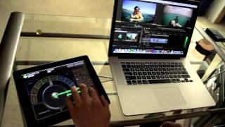 Edit video on you iPad with Gesture control! An awesomely fast way to edit.