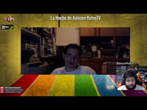 Directo: La Noche de Amicon RetroTV | Entrevista Raccar y Ashley