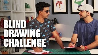 Blind Contour Drawing Challenge feat. Varun Thakur | Mad Stuff With Rob