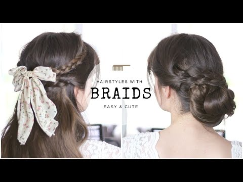 Braids For Beginners – 10 Cute & Simple Hairstyles
