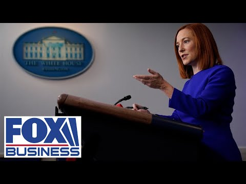 Live: White House press secretary Jen Psaki holds briefing, discusses Colonial Pipeline
