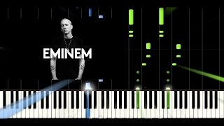 Eminem - Not Afraid - Amazing Piano Tutorial - Cover - Synthesia