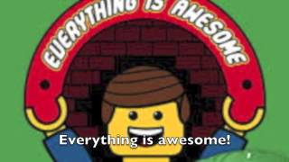 Everything is Awesome- Lyrics Video