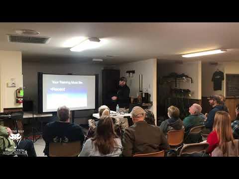 Lessons Learned Presentation In Spokane (Part 2): Training
