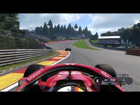 F1 GP Bélgica 2018 Spa-Francorchamps (Clasificación y Carrera / Start & Race)    Español F1 2018 PC