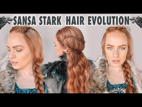 The Evolution of Sansa Stark Hairstyles - KayleyMelissa
