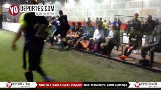 Deportivo Morelos vs. Santo Domingo United Soccer League