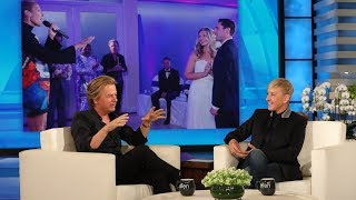 David Spade Gave Céline Dion a Pep Talk Before Crashing a Wedding