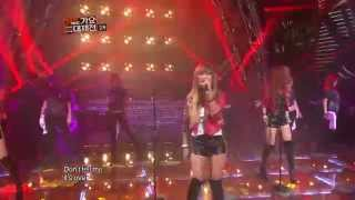 【TVPP】SISTAR - Alone, 씨스타 - 나 혼자, @ 2012 KMF Live