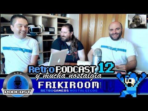 RetroPodcast #12 FrikiRoom | Retro Noticias- 3 RetroJuegos - Chips de Audio de 8bits|