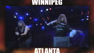Iron Maiden - Maiden England North American Tour ad 2012