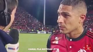 Guerreiro pede música do Felipe Araújo após o jogo