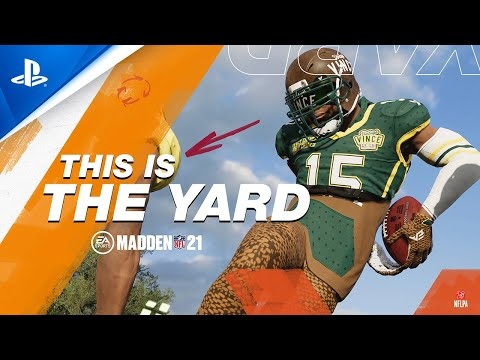 Madden NFL 21 - The Yard Trailer | PS4