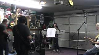 Band Rehearsal-featuring Shannon-CCR cover Proud Mary-7-26-13