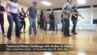 SALSA Y CONTROL 2012 - FOOTWORK CHALLENGE - BOSTON - ANDRES & JOHNNY