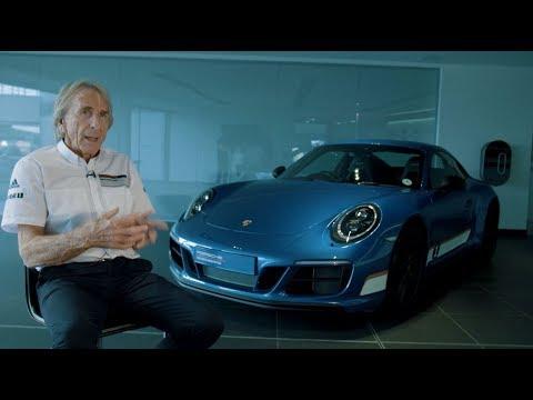 Derek Bell meets his British Legends Edition 911 Carrera 4 GTS