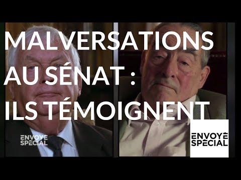 nouvel ordre mondial | Envoyé spécial. Malversations au Sénat : ils témoignent - 12 oct. 2017 (France 2)