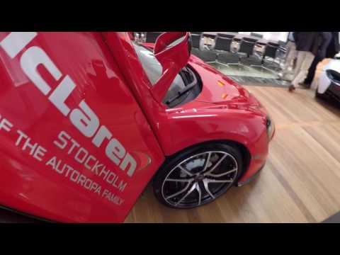 McLaren goes Denmark! Presentation McLaren 720S