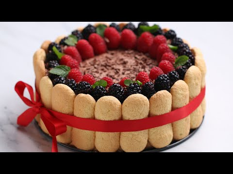 Showstopping Chocolate Berry Charlotte ? Tasty