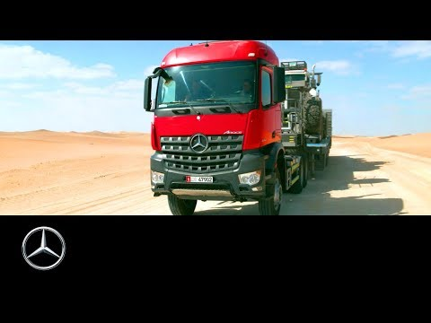 Mercedes-Benz Trucks: Extreme Desert Testing