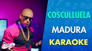 Cosculluela Ft Bad Bunny - Madura (Karaoke)   CantoYo