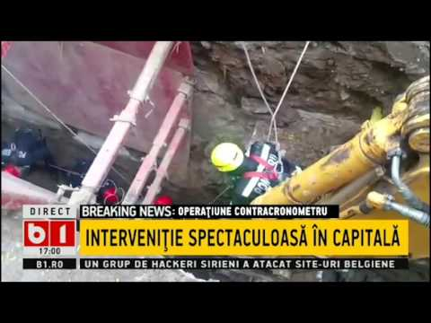 Un muncitor a fost prins sub un mal de de pământ