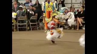 Southern Ute Bear Dance Pow Wow 2014  Jr Boy's Grass