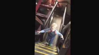 Alf Suter - 1st time up Loughborough Carillon