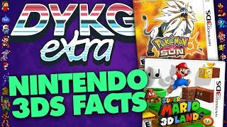 Nintendo 3DS Games Facts - Did You Know Gaming Feat. Dazz (Pokemon, Mario + More)