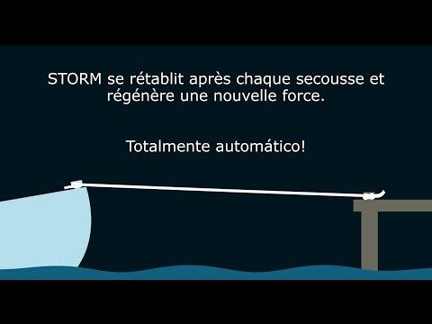 (FR) Aussière d'amarrage  STORM de PolyRopes