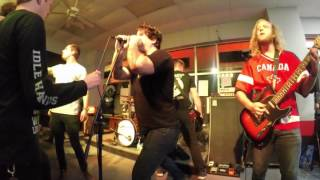 "Rival Choir performing their song ""Running Scared"" live @ MF Metal in Bryant, Arkansas 10-28-15"