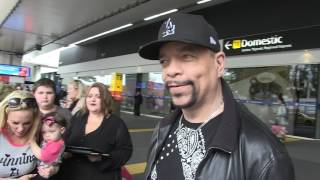 """'ICE-T in Australia - """"I know what happened to Tupac"""" 2/6/17 #exclusive"""
