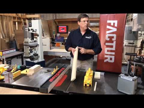 MICROJIG Total Shop Safety Facebook LIVE Video