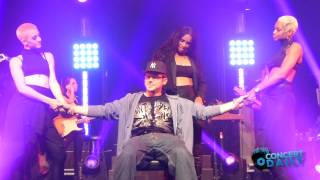 Ciara gives fan a lap dance to 'I Run It' live New York City